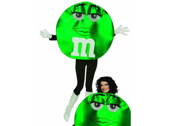 M&M Green Deluxe Costume Adult Standard