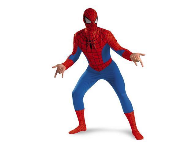 Spiderman Deluxe Costume Adult 42-46