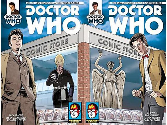 Doctor Who: The Eleventh Doctor #1 Comic Book (Comickaze'14 Variant)
