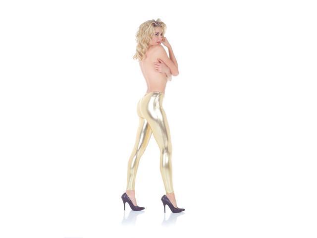 Leggings Costume Accessory Adult: Gold Large/X-Large