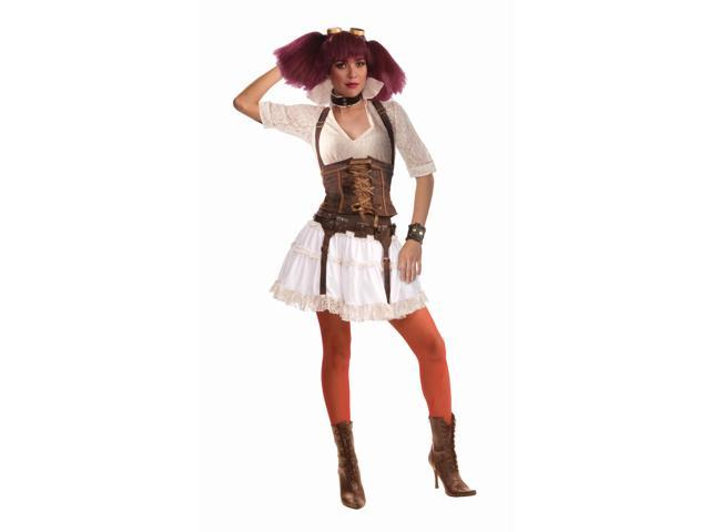 Steampunk Sally Costume wCorset Adult Standard