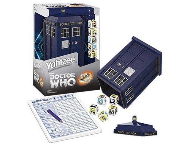 Yahtzee Dice Game Doctor Who