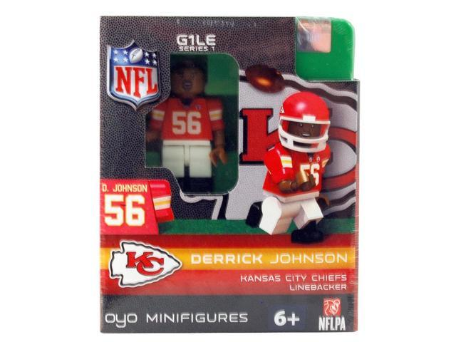Kansas City Chiefs NFL OYO Minifigure Derrick Johnson