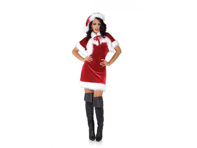 Merry Mrs. Claus Christmas Holiday Adult Costume Medium
