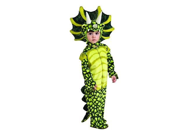Triceratops Dinosaur Jumpsuit Costume Child Small