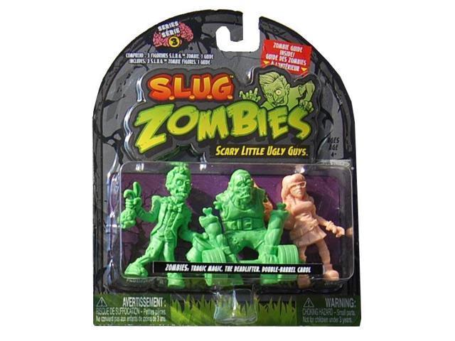 S.L.U.G Zombies Wave 3 Tragic Magic, Deadlifter, Double-Barrel Carol