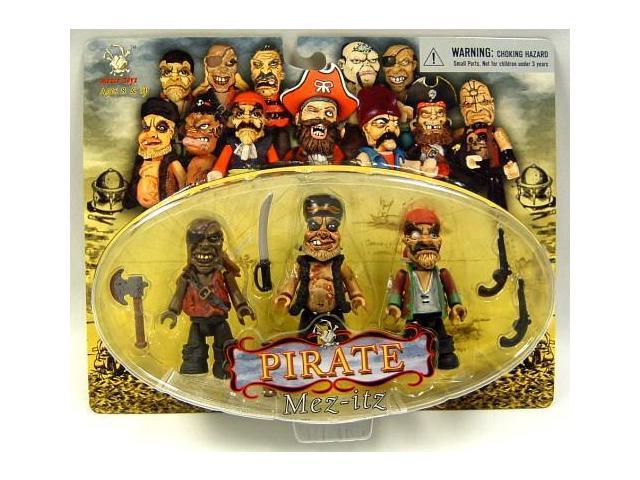 Pirate Mez Itz Figure Pack Of 3 Set D