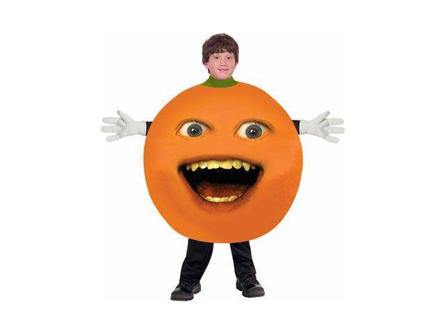 Annoying Orange Child Orange Costume One Size Fits Most