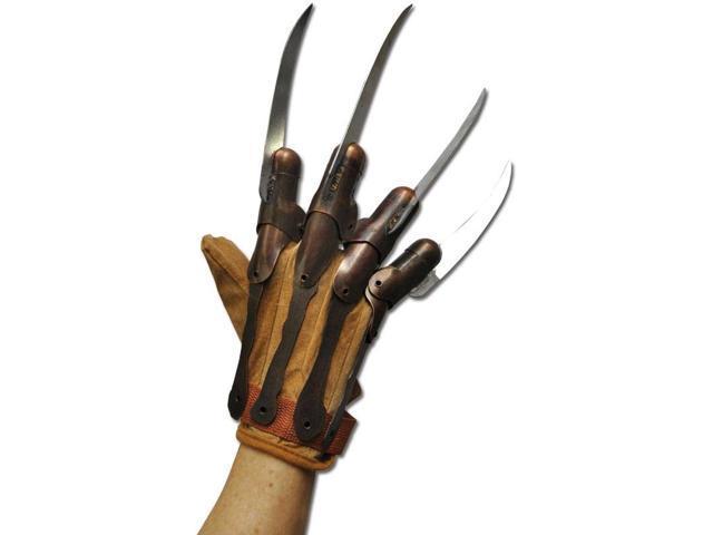 Nightmare On Elm St. Movie Supreme Edition Metal Freddy Costume Glove