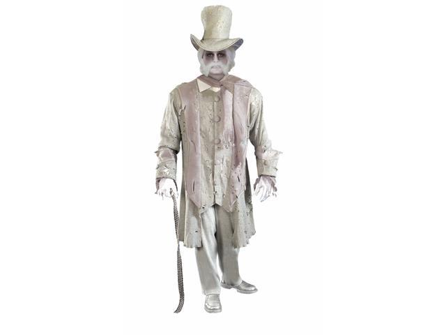 Ghostly Gentleman Costume Suit Adult One Size Fits Most