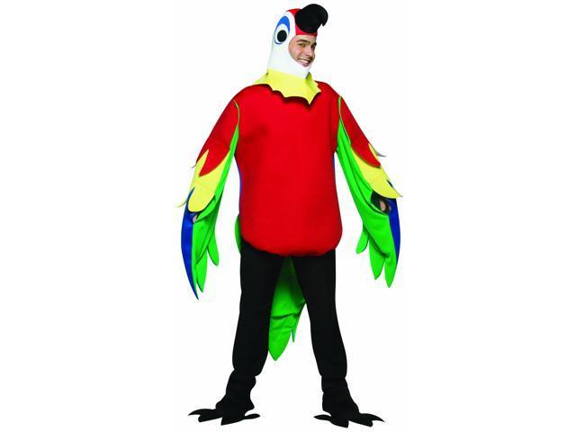 Lightweight Parrot Costume Adult Standard
