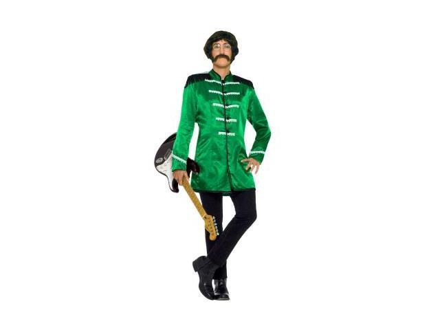 British Explosion Green Adult Costume Standard
