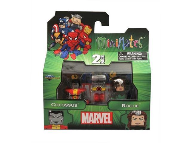 Marvel Minimates Series 47 Figure 2 Pack Colossus & Rogue