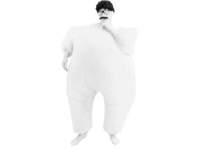 Inflatable Chub Suit Costume: White One Size Fits Most