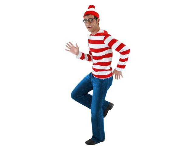 Where's Waldo Costume Kit Adult X-Small/Small