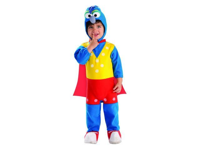 The Muppets Romper Gonzo Costume Baby 2T-4T