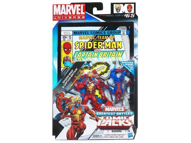 Marvel Universe Greatest Battles 2Pk 3.75