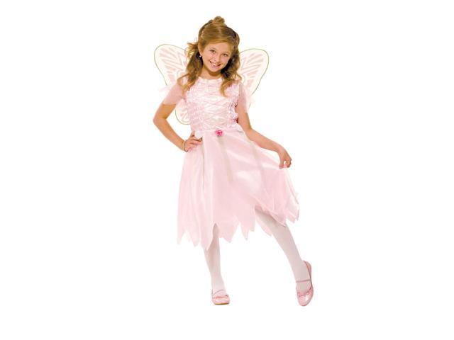Enchanted Pink Fairy Costume Child Small 4-6