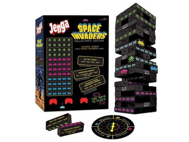 Space Invaders Collector's Edition Jenga Game
