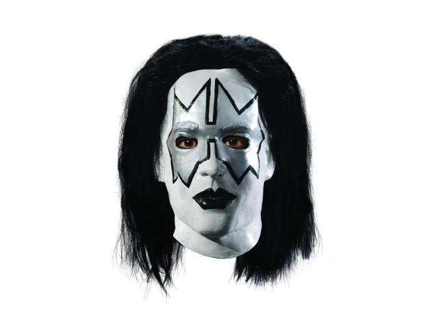 KISS Spaceman Deluxe Overhead Latex Adult Costume Mask