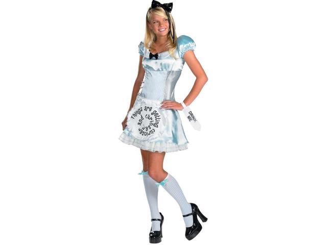 Alice in Wonderland Alice Teen Costume 8-10