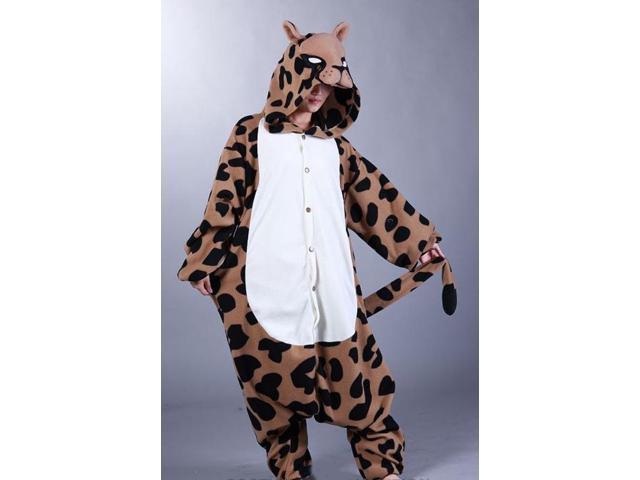 Leopard Kigurumi Cushzilla Animal Adult Anime Costume Pajamas Standard