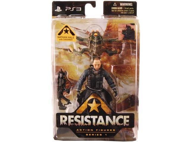 Resistance Series 1 Figure Nathan Hale With Swarmer