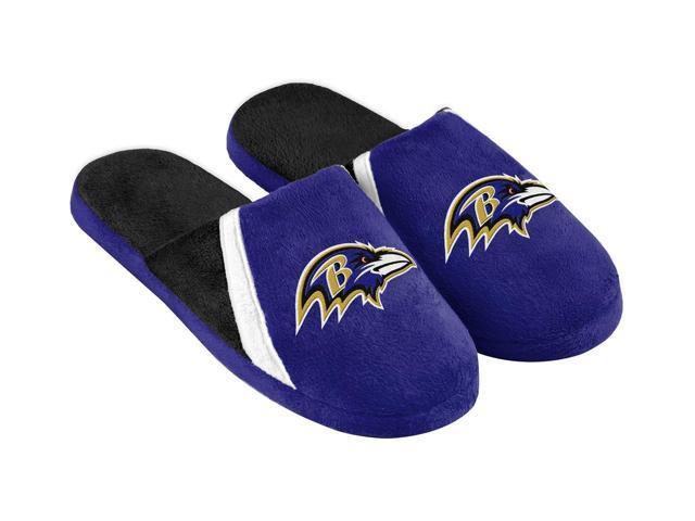 Baltimore Ravens NFL Swoop Logo Slide Slippers X-Large