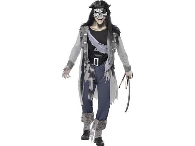 Haunted Swashbuckler Pirate Adult Costume Medium