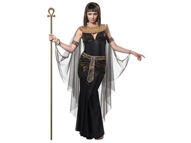 Sexy Black Cleopatra Dress Costume Adult Large 10-12