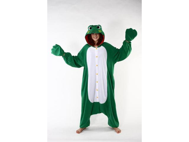 Frog Kigurumi Cushzilla Animal Adult Anime Costume Pajamas Standard