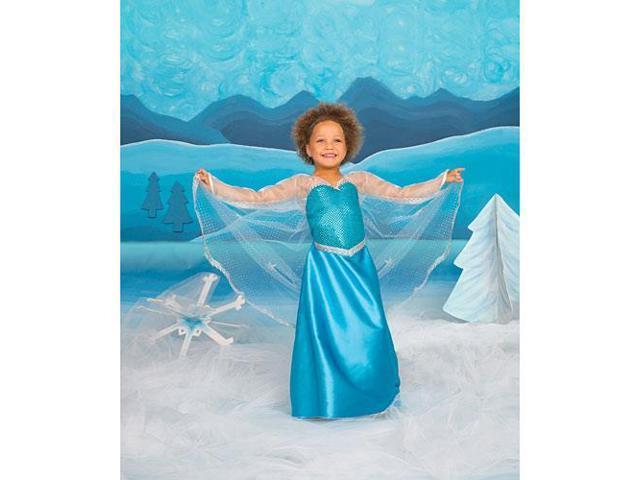 Ice Crystal Queen Child Costume Medium