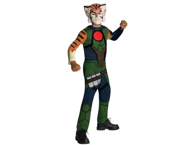 Thundercats Tygra Jumpsuit & Mask Costume Child Large 12-14