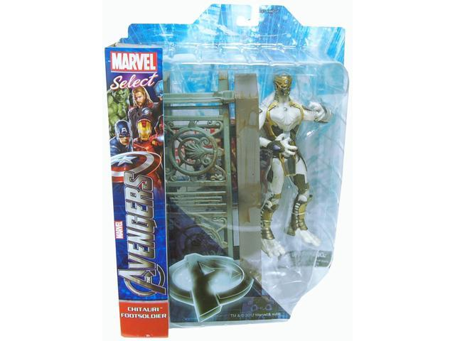 Marvel Select Avengers Movie Enemy Figure Chitauri Footsoldier