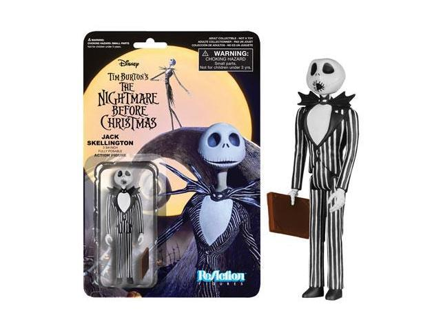 Nightmare Before Christmas Variant 2 Surprise Face Jack ReAction Figure