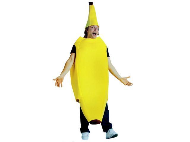 Big Banana Costume Adult Standard