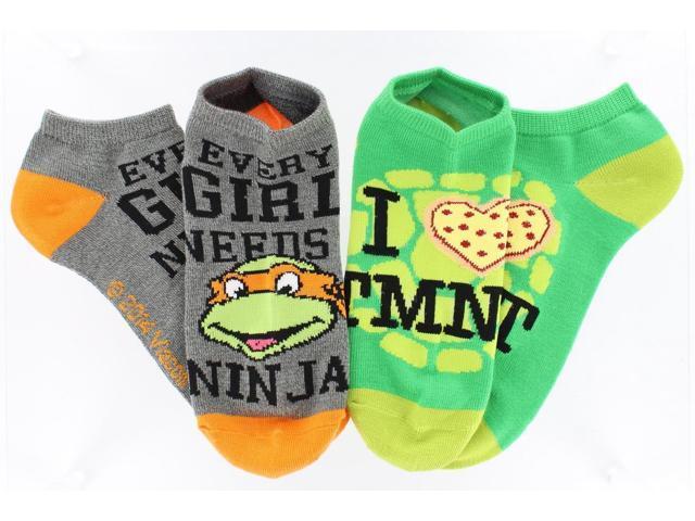 Teenage Mutant Ninja Turtles Ankle Socks 2-Pack