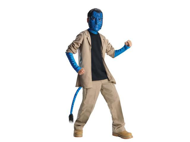 Avatar Jake Sully Costume Delue Child Large