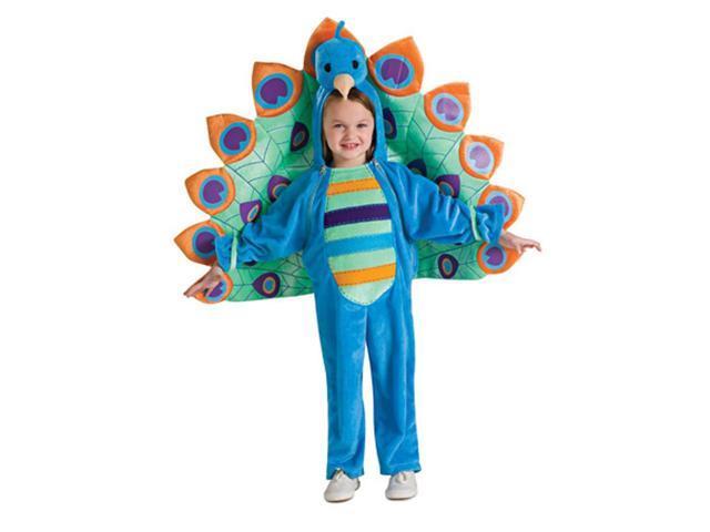 Colorful Peacock Jumpsuit Costume Baby Jumpsuit 6-12 Months
