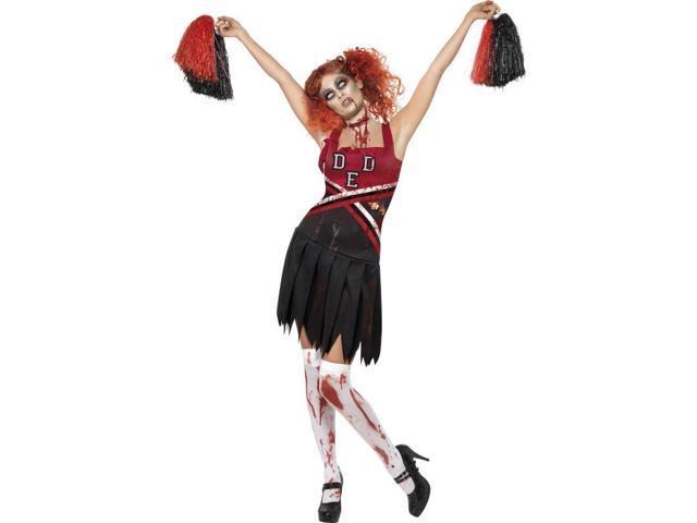 High School Horror Cheerleader Adult Costume Medium