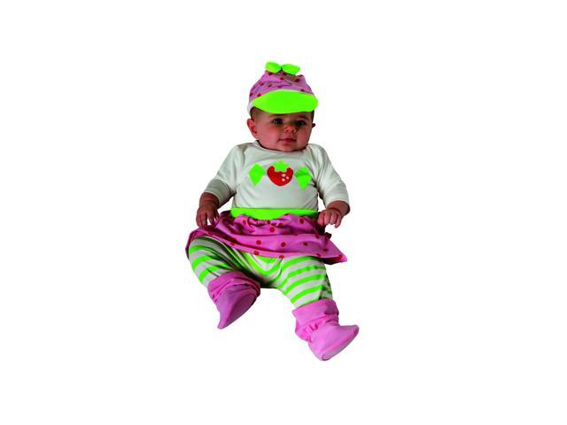 Strawberry Shortcake Onepiece Newborn Infant Costume Newborn