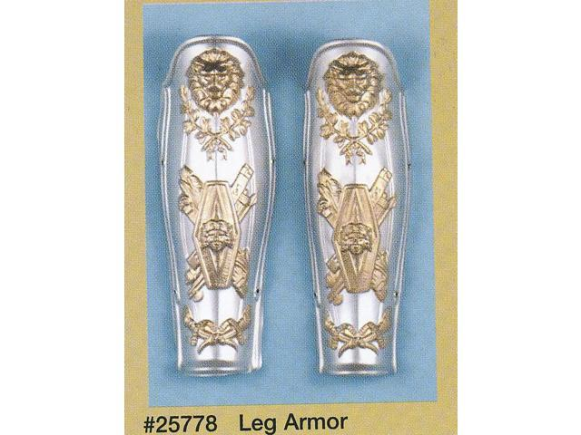 Roman Leg Armor Adult Costume Set