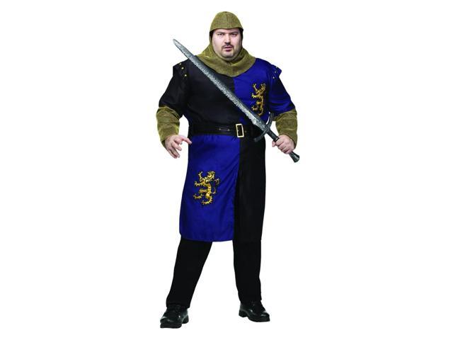 Renaissance Knight Costume Adult Plus Plus Size