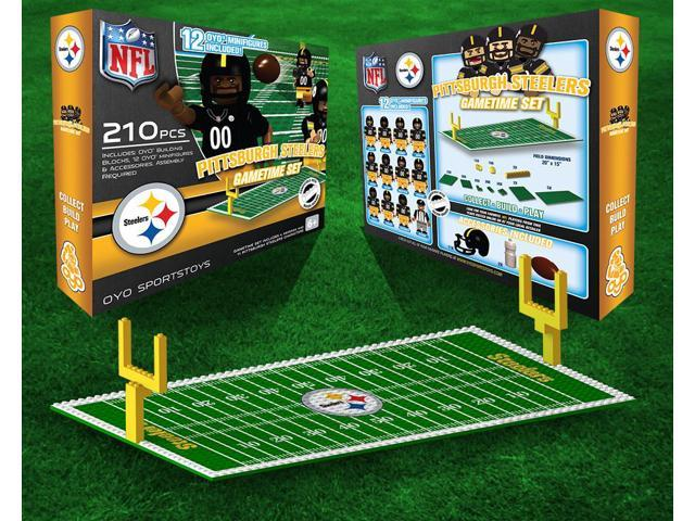 Pittsburgh Steelers NFL OYO Figure and Field Team Game Time Set