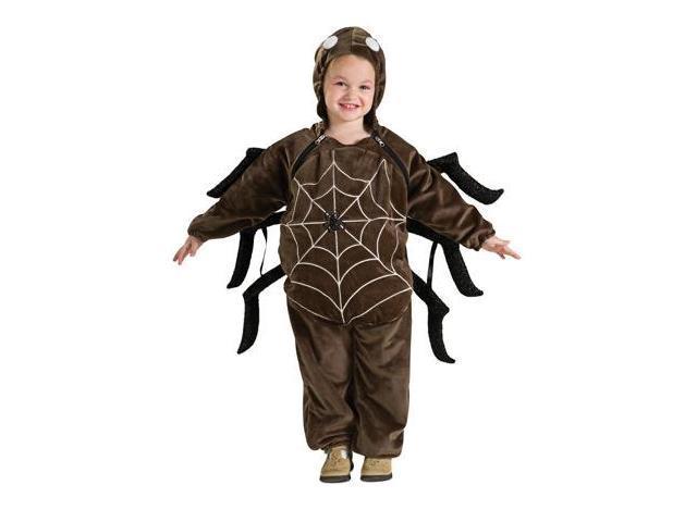 Brown Spider Web Costume Jumpsuit Baby Newborn 0-6 Months