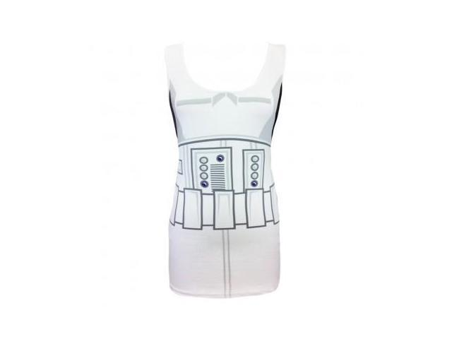 Star Wars I Am Storm Trooper Costume Adult Tank Dress Large