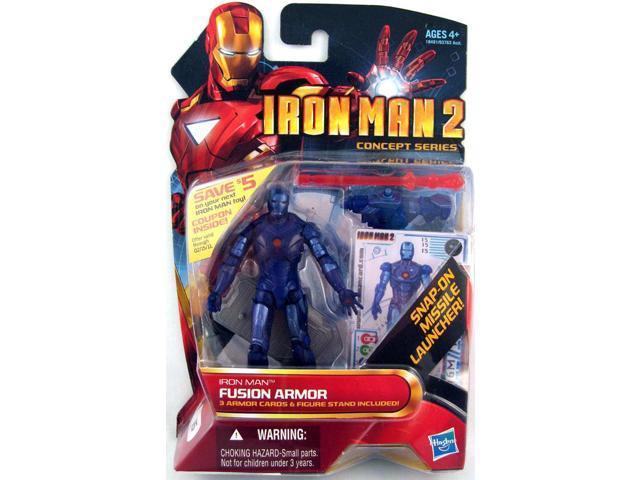 Iron Man 2 Movie Collection 1 Figure Stealth Fusion Iron Man 15