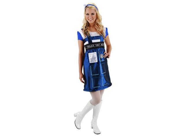 Dr. Who TARDIS Dress Costume Adult Small/Medium