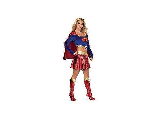 Deluxe Supergirl Sexy Costume Adult Small