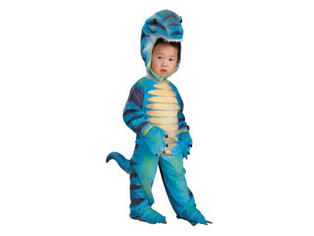 Cutiesaurus Blue Dinosaur Jumpsuit Costume Child Toddler 2T-4T
